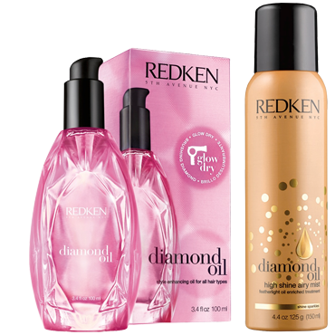 Redken Diamond oil blow dry
